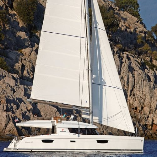 ipanema 58 fountaine pajot sailing catamarans