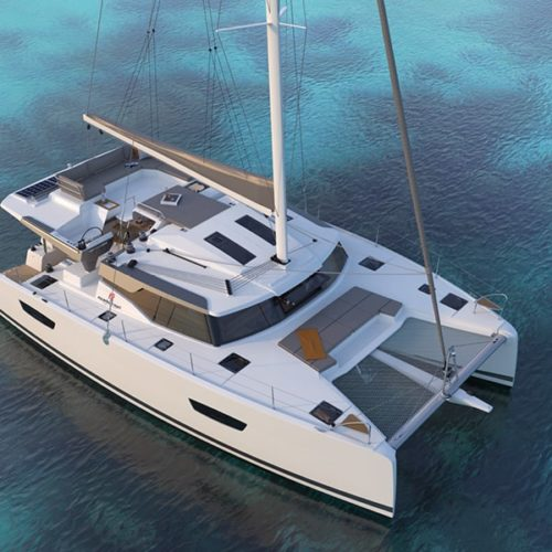 new 45 fountaine pajot sailing catamarans