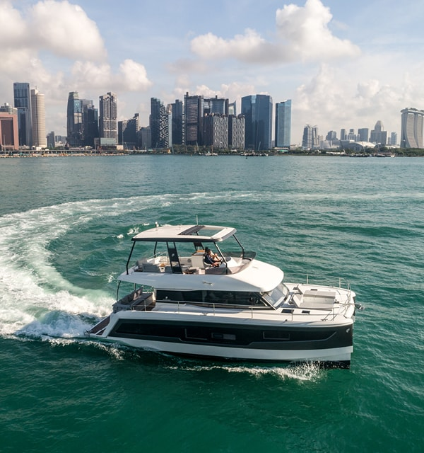 fountaine pajot motor yachts my40