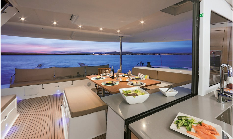 saba 50 fountaine pajot sailing catamarans