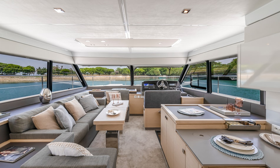 fountaine pajot motor yachts my 40