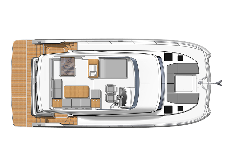 fountaine pajot my 40 top fly